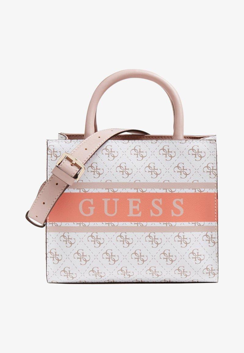 Guess - MONIQUE - Handbag - mehrfarbig, weiß
