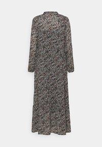 Moss Copenhagen - GLORIE RIKKELIE  DRESS - Maxi dress - black - 1