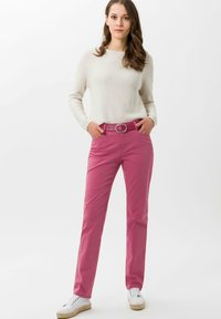 BRAX - STYLE MARY - Trousers - magnolia - 1