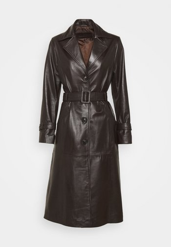 ISABEL FASHION - Trenchcoat - dark brown
