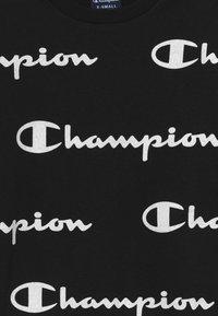 Champion - LEGACY AMERICAN CLASSICS - Collegepaita - black/white - 3