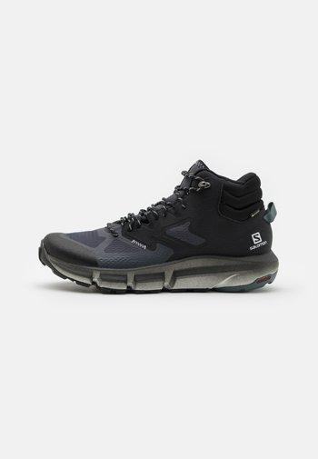PREDICT HIKE MID GTX - Hiking shoes - ebony/black/stormy weather
