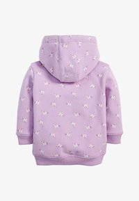 Next - LILAC UNICORN ZIP THROUGH HOODY (3MTHS-7YRS) - veste en sweat zippée - purple