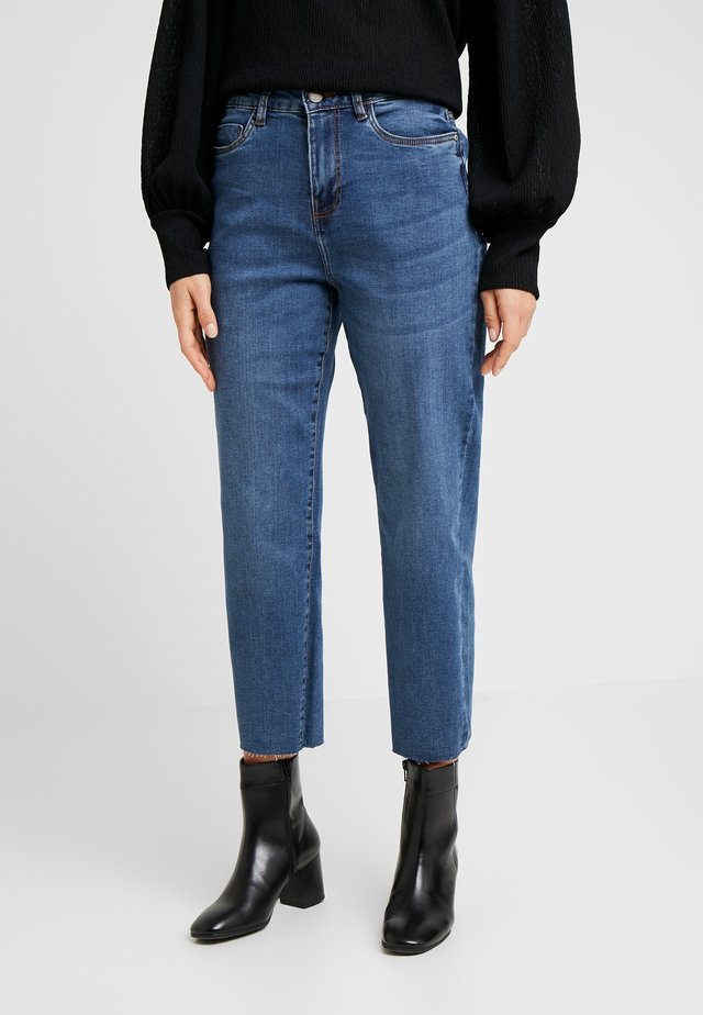 SLIM STRGHT - Jeans straight leg - medium blue denim