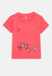 Name it - NBMJEFIKO 2 PACK - Print T-shirt - calypso/coral - 2