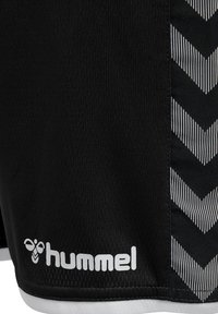 Hummel - AUTHENTIC KIDS POLY SHORTS - Sports shorts - black/white - 3