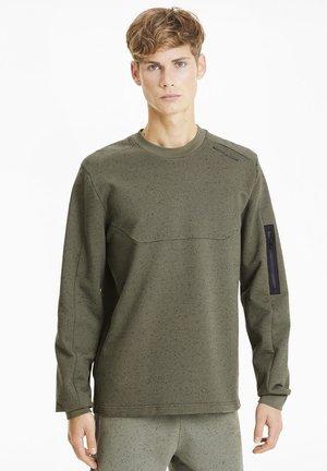 PORSCHE DESIGN - Sweatshirt - deep lichen green heather