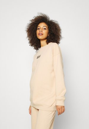 MATERNITY MAMA  - Sweatshirt - camel