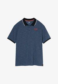 C&A - Polo shirt - mottled blue - 3