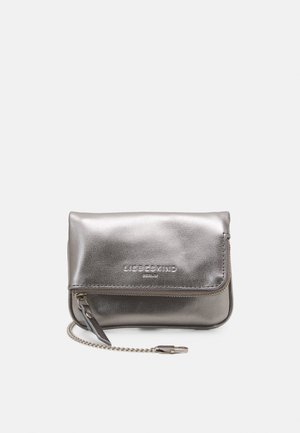 ALOEXXS - Across body bag - metallic grey