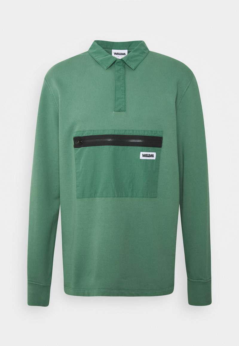 WAWWA - JONAH RUGBY SWEATSHIRT SAGE - Sweatshirt - green
