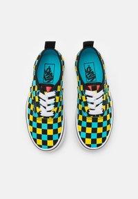 Vans - AUTHENTIC ELASTIC LACE UNISEX - Sneakers - black/multicolor - 3