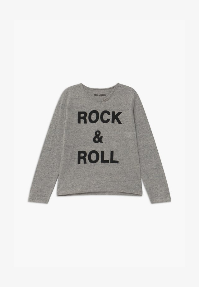 LONG SLEEVE  - T-shirt à manches longues - grey