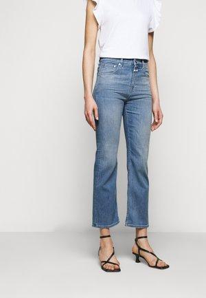 BAYLIN - Široké džíny - mid blue