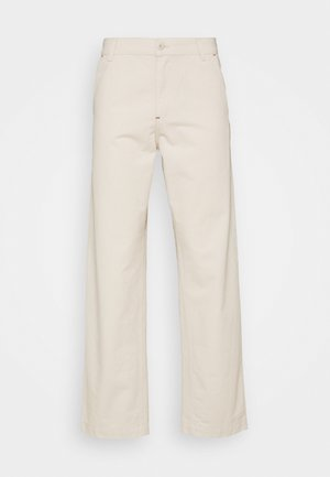 WESLEY PANT NEWCOMB - Relaxed fit -farkut - natural