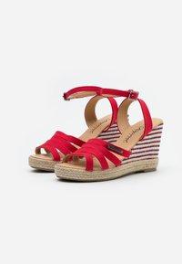 Kaporal - MONTY - High heeled sandals - rouge - 2