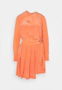 Victoria Victoria Beckham - PLEATED DRESS - Vestito elegante - lychee pink - 5