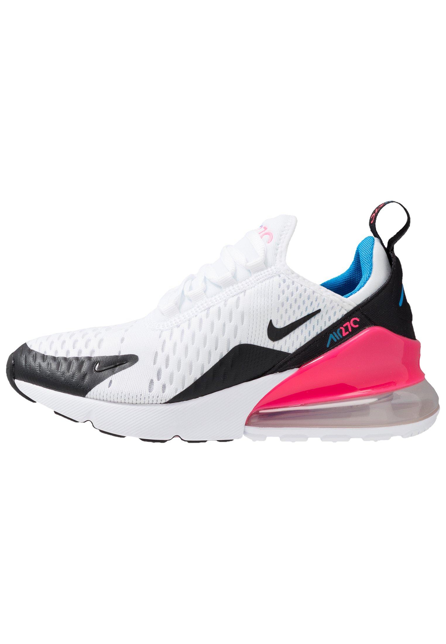 Nike Sportswear AIR MAX 270 - Baskets basses - white/pink ...
