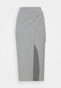 Zign - Pencil skirt - mottled grey - 4