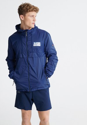 Training jacket - beechwater blue