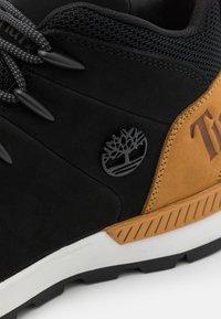 Timberland - Höga sneakers - black/wheat - 5