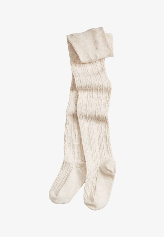 CABLE - Ylipolvensukat - off-white