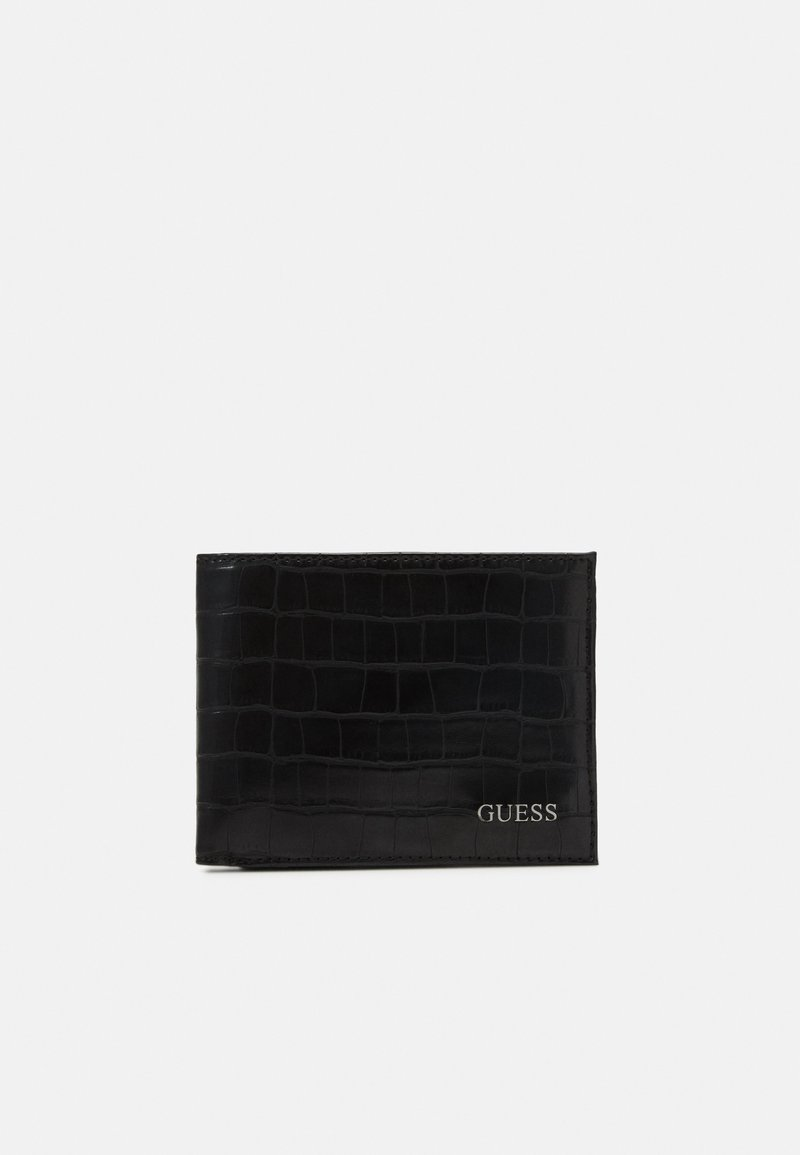 Guess - BO FLAT BILLFOLD - Monedero - black