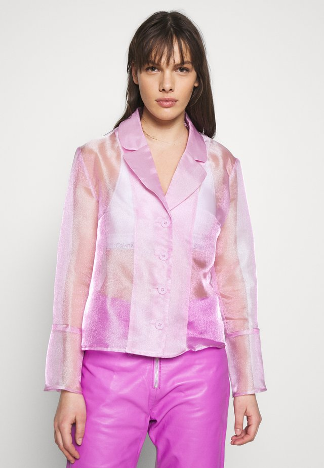 JASMINE - Button-down blouse - light pink