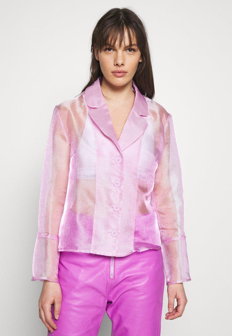 HOSBJERG - JASMINE - Skjortebluser - light pink