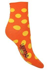 Libertad - 2 PACK - Socks - orange - 3