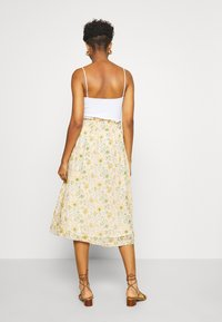 Leon & Harper - JACARA BOUQUET - A-line skirt - off white - 2