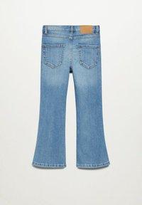 Mango - Flared Jeans - bleu moyen - 4