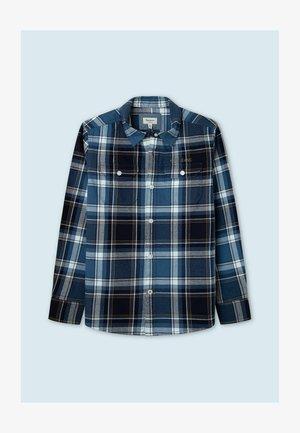 ADRIAN - Shirt - indigo blau