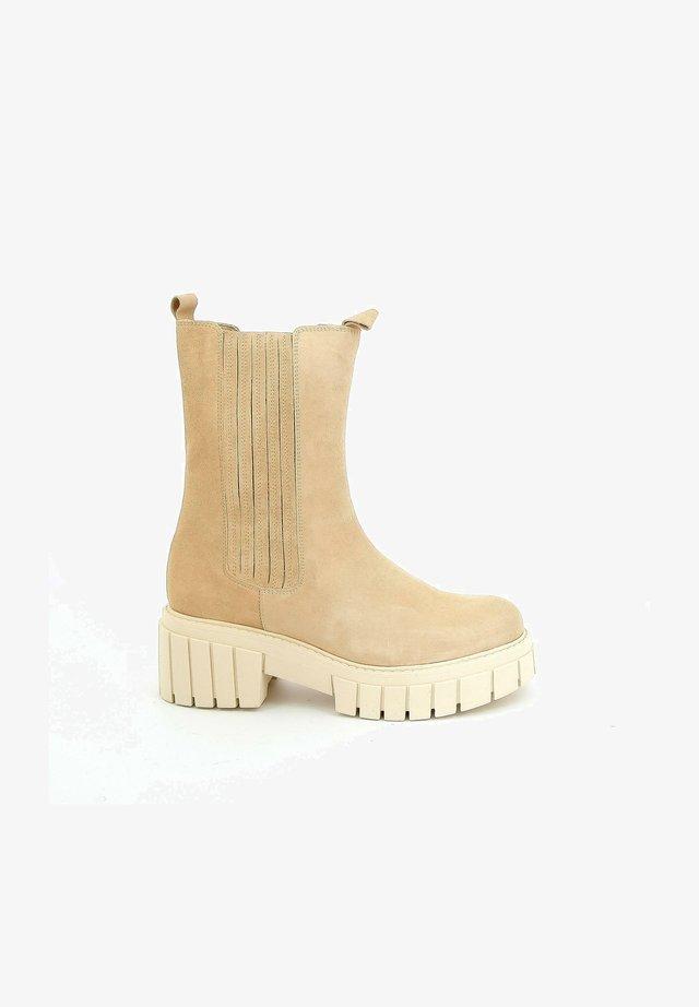 PSYCOTI - Korte laarzen - beige