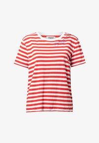 Desigual - Print T-shirt - red - 4
