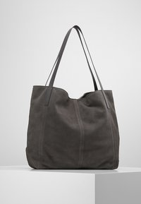 KIOMI - LEATHER - Tote bag - anthrazit - 2