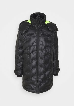 W-RUSSELL-LONG-THERMO JACKET - Talvitakki - black