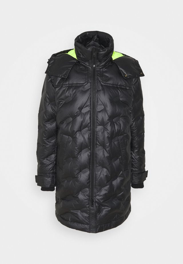 W-RUSSELL-LONG-THERMO JACKET - Winter jacket - black
