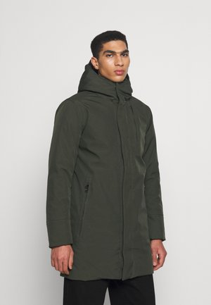 CLIMATE SHELL JACKET  - Winter coat - forrest night
