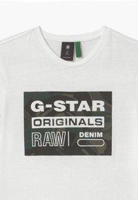 G-Star - TEE - Print T-shirt - milk - 2
