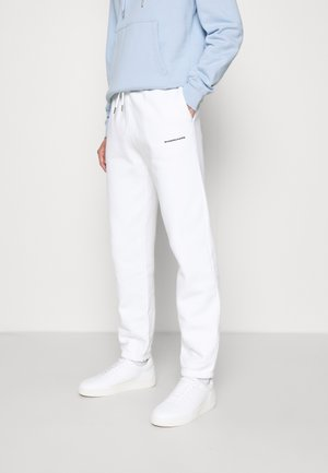 Teplákové kalhoty - blanc