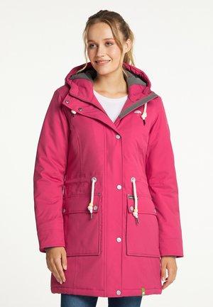 Winter coat - dunkelpink