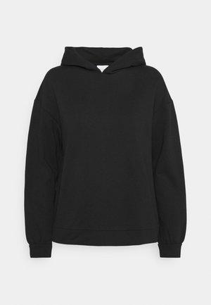 VIRUST HOODIE - Bluza z kapturem - black