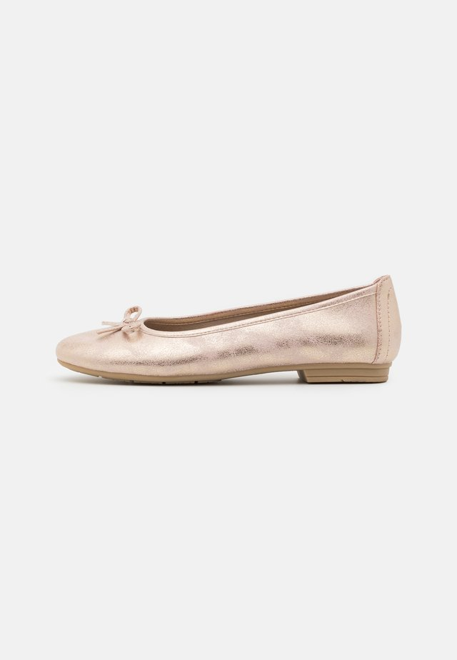 Ballerina's - rose metallic