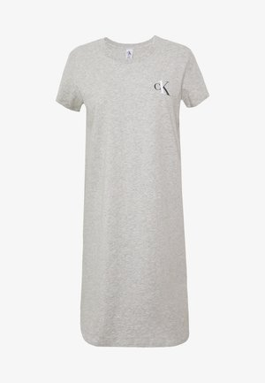 CK ONE LOUNGE NIGHTSHIRT - Nattskjorte - grey heather