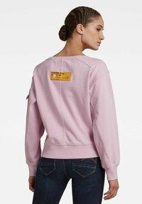 G-Star - BOAT NECK - Sweatshirt - lavender pink - 1