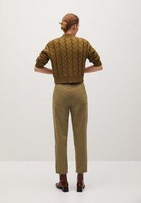 Mango - RELAX - Trousers - kaki - 2