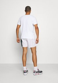 Karl Kani - RETRO BLOCK PINSTRIPE - Shorts - white - 2