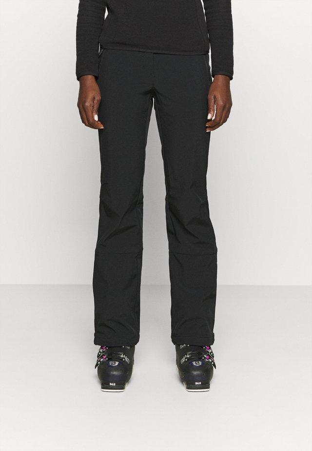 FRECHEN - Pantalon de ski - black