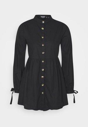 TIE CUFF DRESS - Denní šaty - black